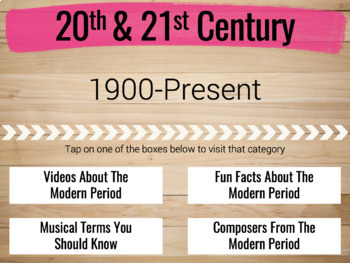 20th and 21st Century in Music History Quick Guide