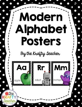 Alphabet Line, ABC letter posters for First Second Third