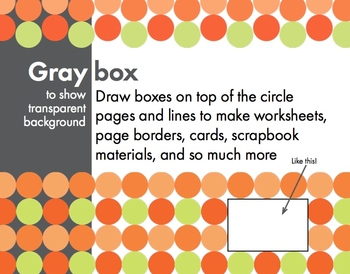 Modern Poppy, Sophisticated Clip Art, Borders & Backgrounds – Easy Printing