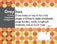 Modern Poppy, Sophisticated Clip Art, Borders & Background
