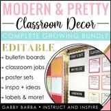 Modern & Pretty Classroom Decor - Growing Bundle