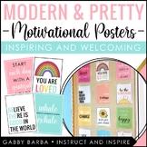 Modern & Pretty Motivational Posters