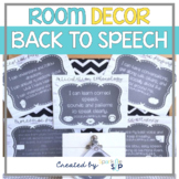 #spedprepsummer1 Modern Rustic Speech Room Decor