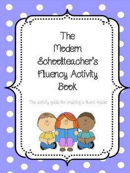 Modern Schoolteacher's Fluency Activity Book-COMMON CORE RELATED