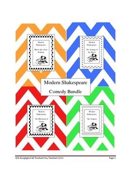 Modern Shakespeare COMEDY BUNDLE