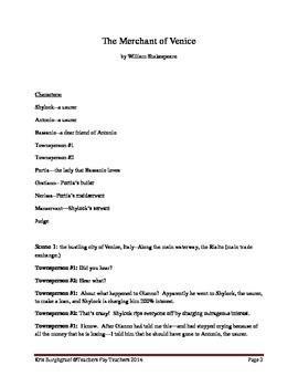 Modern Shakespeare (The Merchant of Venice)