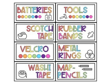 Modern Simple Rainbow Teacher Toolkit