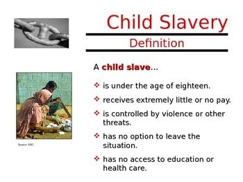 Modern Slavery Power Point