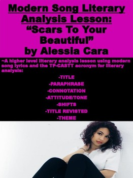 """Modern Song Literary Analysis: """"Scars To Your Beautiful"""""""