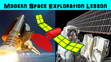Modern Space Exploration No Prep Lesson with Power Point,