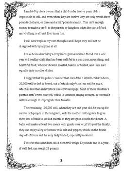 Modern Translation- A Modest Proposal