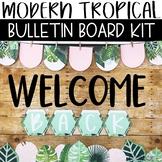 Modern Tropical Back To School Bulletin Board or Door Kit