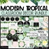 Modern Tropical Classroom Decor Bundle