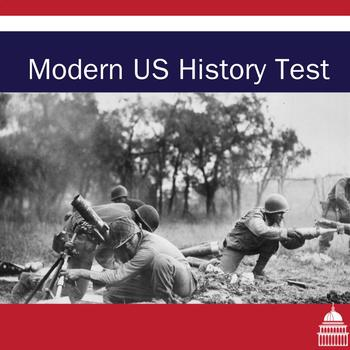 Modern US History Test