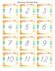 Modern Watercolor Calendar Set
