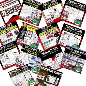 Modern World History BUNDLE (World History Bundle)