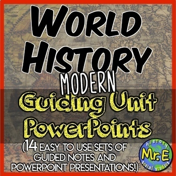 Modern World History Worksheets Teaching Resources TpT