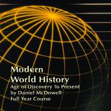Modern World History-Teacher Manual, Lesson Plans, PPT's, Activity Book