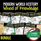 Modern World Issues Activity, Wheel of Knowledge (Interactive Notebook)