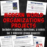 Modern World Organizations Projects