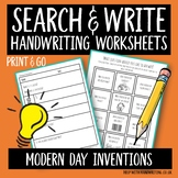 Modern day inventions - search & write