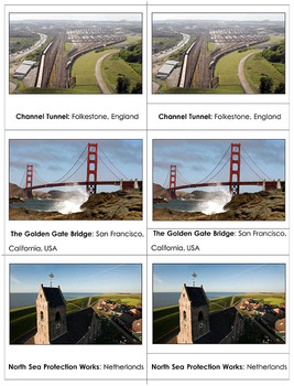 Modern-day wonders of the world - Picture file
