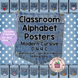 ModernDN Cursive Alphabet Line Posters Jean Pocket 1 on Po