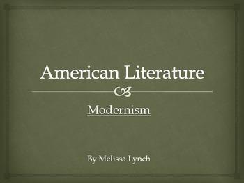 Modernism - American Literary Movement Series, part VII