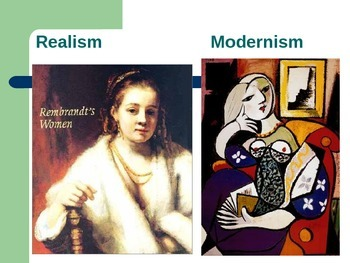 Modernism Introduction through Modern Art Picasso and Rembrendt