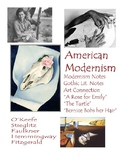 Literary Analysis of American Modernism -- Unit Bundle