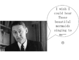 Modernism: T.S. Eliot (detailed Prufrock analysis) T.E. Hulmes, Marianne Moore