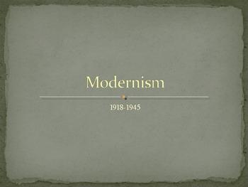 Modernism and Literature
