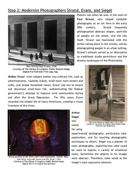 Modernism in Photography