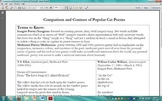 Modernist Poetry- Compare and Contrast 3 Popular Cat Poems