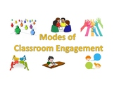 Modes of Classroom Engagement Posters