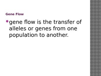 Modes of Evolution (Population Genetics)
