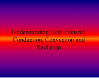 Modes of Heat Transfer