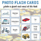 Modes of Transport Photo Flash Cards: Photo in Front and Word Back