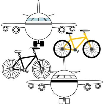 Modes of Transportation Clipart