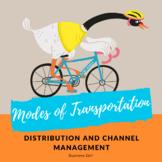 Modes of Transportation Comparison Worksheet for Distribution