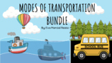 Modes of Transportation: Land, Air, and Water (Google Slide, Bundle)