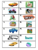 Modes of Transportation MatchingMania
