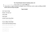 Modifiable Colonial Vocabulary Unit 1 Study Guide_Cards_Qu