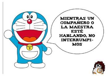 Modificación de conducta con Doraemon
