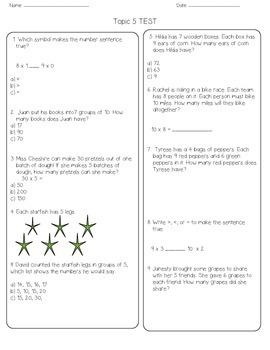 Envision Grade 3 Topic 5