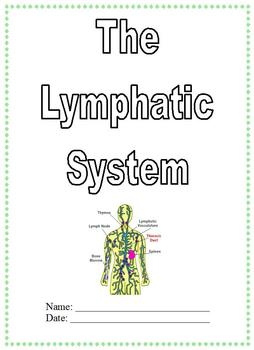 Modified Anatomy Notes & Test; Lymphatic System Unit, Differentiated Special Ed