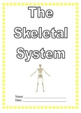 Modified Anatomy Notes & Test; Skeletal System Unit, Differentiated Special Ed