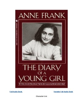 Anne frank curriculum teaching resources teachers pay teachers modified anne frank novel w digital links fandeluxe Image collections