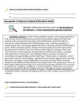 Modified Black Death Inquiry