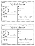 Modified Daily Math Practice for 2nd Grade - 50